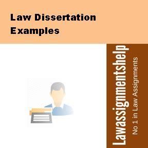 Dissertation proposals law